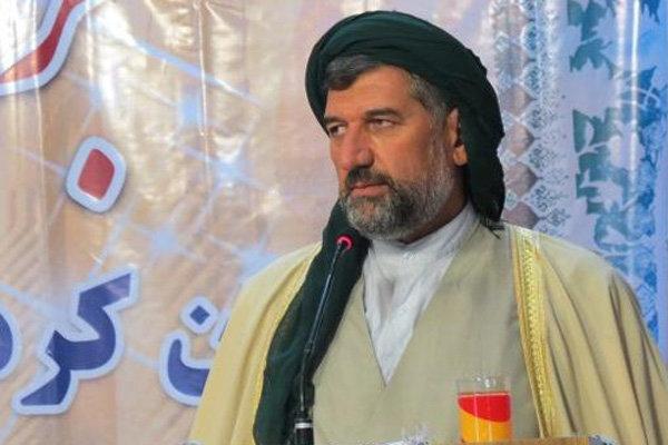 ماموستا حسینی امام جمعه موقت سنندج