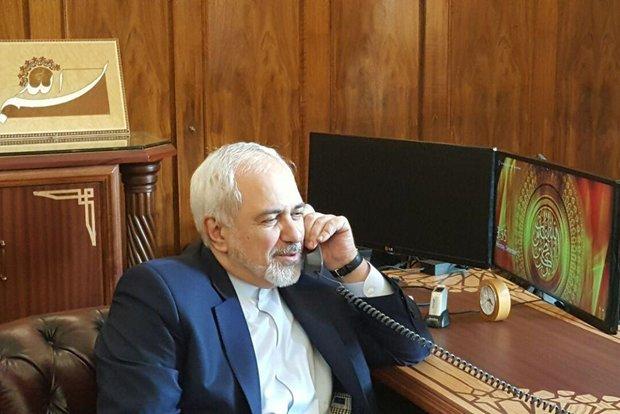 Zarif ve Çavuşoğlu telefonda görüştü