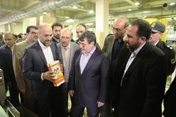 استاندار قزوین از شهرک صنعتی کاسپین  ۲ در آبیک بازدید کرد