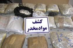کشف ۱۰۰ کیلو هروئین و تریاک در عملیات پلیس یزد