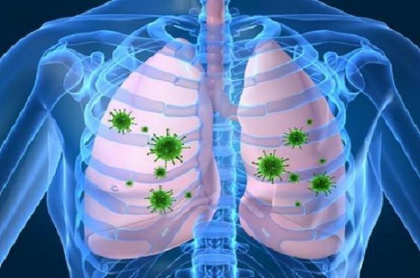 باکتری, بیماری های تنفسی, عفونت