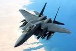 جنگنده اف -۱۵ آمریکا سقوط کرد