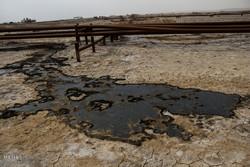 نشت نفت در منطقه کریت کمپ، بخش غیزانیه