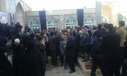 پیکر امام جمعه سبزوار در دیار سربداران تشییع شد