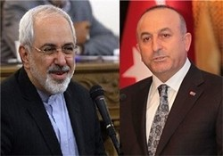 Iranian, Turkish FMs on phone for 6th time