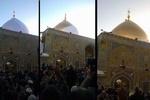 گنبد جدید حرم مطهر حضرت علی (ع) رونمایی شد