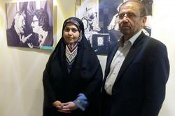 رییس فراکسیون زنان مجلس به تماشای «ابوبکر محمدی فاطمه محمدی» نشست