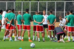 الغاء مباراة ايران والمغرب في الإمارات المتحدة العربية