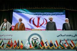 إنطلاق اعمال المؤتمرالدولي الحادي والثلاثين للوحدة الاسلامية في طهران