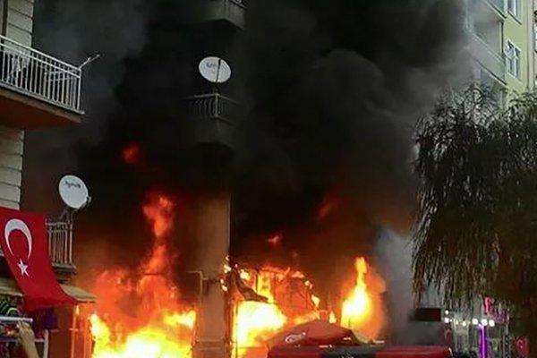 İstanbul'da HDP binasında patlama