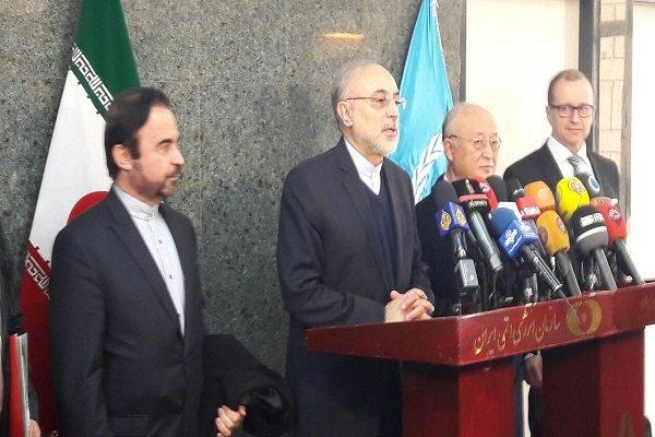 Amano, Salehi kick off talks on technical coop.
