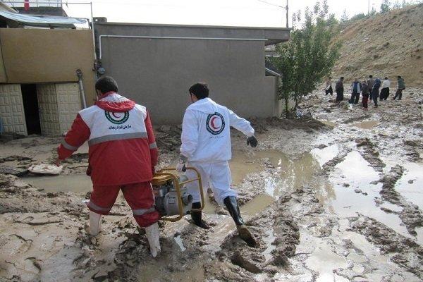 امدادرسانی به ۱۳۵ هزار نفر گرفتار سیلاب/بکارگیری ۵ بالگرد