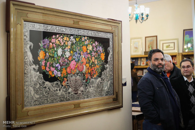 10th National Biennial of Persian Painting opens in Tehran