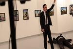 فیلم/ترور سفیر روسیه در ترکیه
