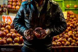 """تحضيرات السوق الايراني لليلة """"يلدا"""" /صور"""