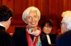 IMF Chief Lagarde declines Trump's call against Iran