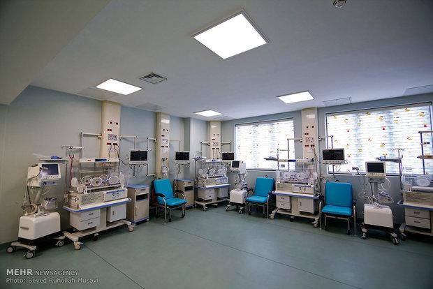 افتتاح بیمارستان  350 تخت خوابی فرقانی در قم