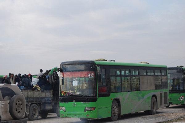 مشرقی حلب سے 37 ہزار افراد کا انخلاء مکمل