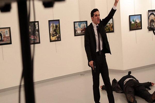 Rus büyükelçiyi vuran saldırgan çevik kuvvet polisi çıktı