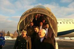 Zarif, Dehghan arrive in Moscow