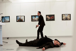 انقرہ میں دہشت گردانہ حملے میں روسی سفیر ہلاک