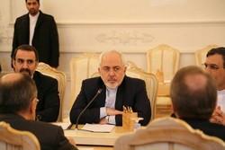 ظريف: النجاح في مكافحة الإرهاب كان ثمرة التعاون الإيراني الرّوسي