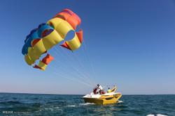 فصل السياحة في جزيرة كيش مستمر بحلول الشتاء /صور