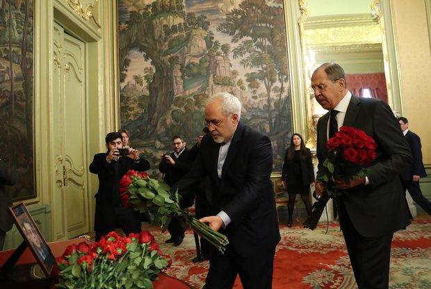 VIDEO: Zarif, Lavrov meeting