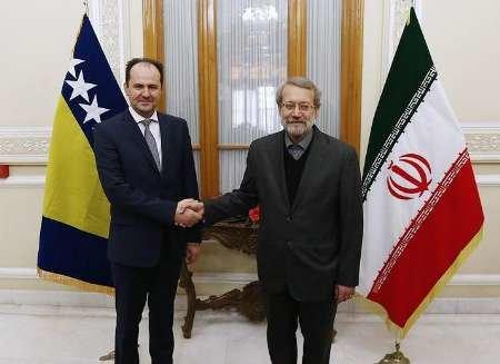 Iran, Bosnia share views on regional crisis