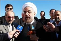 رئيس الجمهورية : تعزيز العلاقات مع دول الجوار من اولويات سياسة ايران الخارجية