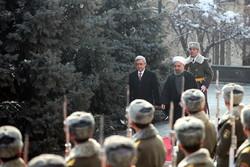 آرمینیا میں ایرانی صدر کا والہانہ استقبال
