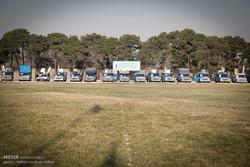 ۵۵ سری جهیزیه به زوجهای نیازمند در شمال خوزستان اهدا شد