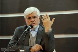 سخنرانی محمدرضا عارف رئیس فراکسیون امید مجلس شورای اسلامی در دانشگاه آزاد کرمان