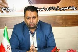 کراپشده - علی مویدی زاده فرماندار شهرستان سرخه