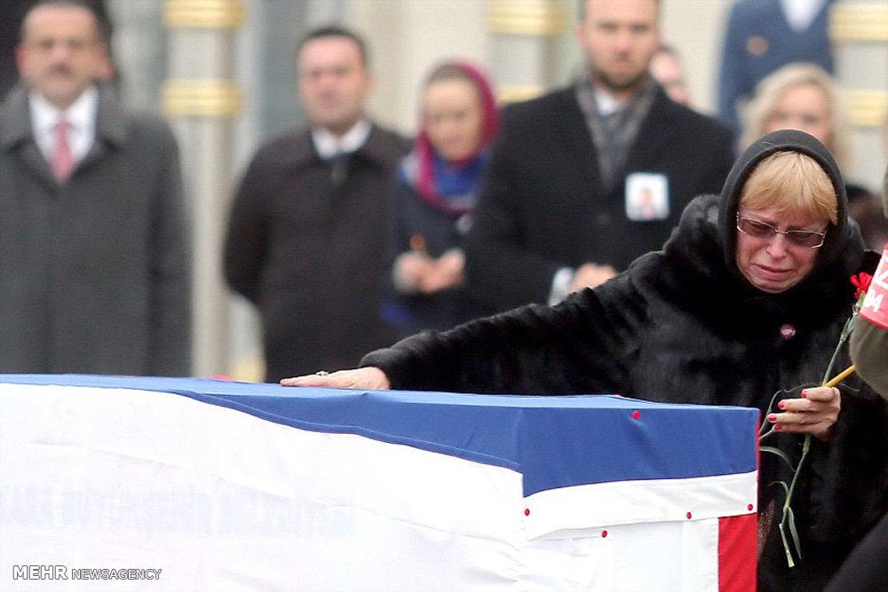 ارسال جنازه سفیر روسیه در آنکارا به کشورش