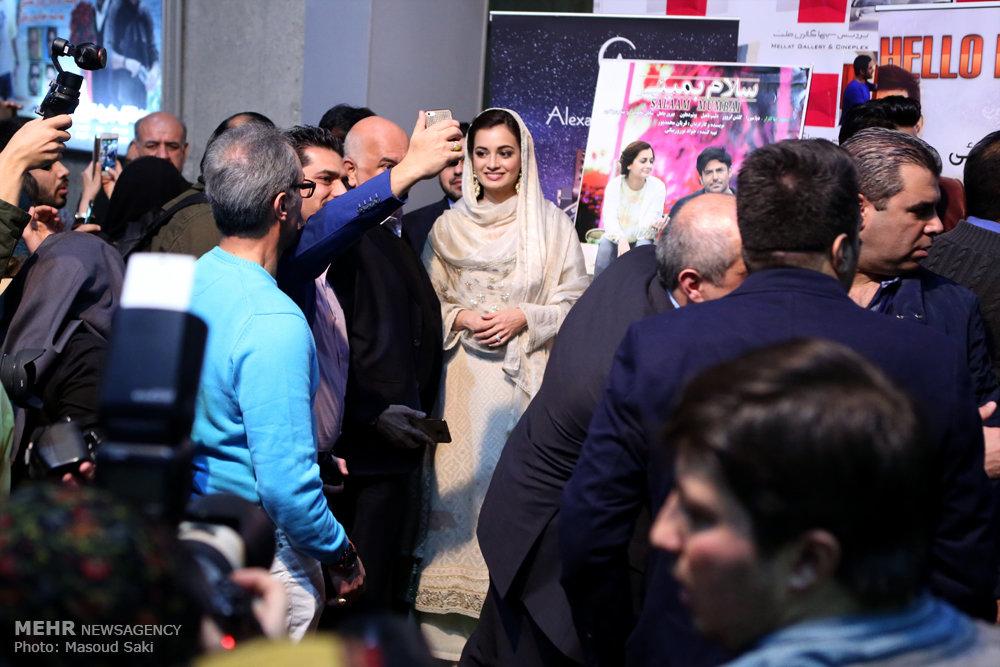 اکران فیلم سلام بمبئی با حضور بازیگر زن هندی