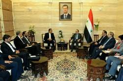 جهانغيري يدعو رئيس الوزراء السوري لزيارة طهران