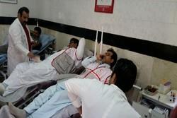 شاخص اهدای خون در مازندران ۴۲ در ۱۰۰۰ نفر جمعیت است