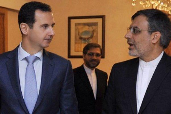 Cabiri Ensari, Beşar Esad'la görüştü