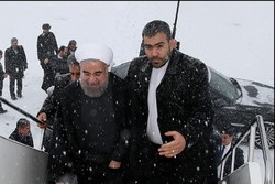 روحاني  يعود الى طهران بعد إنتهاء محطته الأسيوية  الثالثة في قرغيزيا