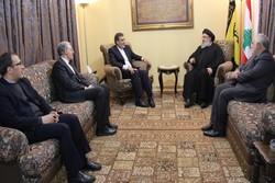 الامين العام لحزب الله يستقبل مساعد وزير الخارجية الايراني