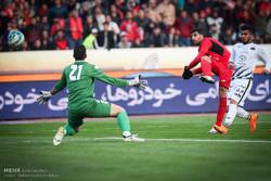 دیدار تیم های پرسپولیس تهران و سیاه جامگان مشهد