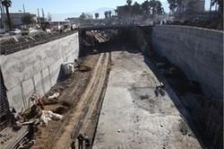 پایان عملیات حفاری تونل-زیرگذر استاد معین