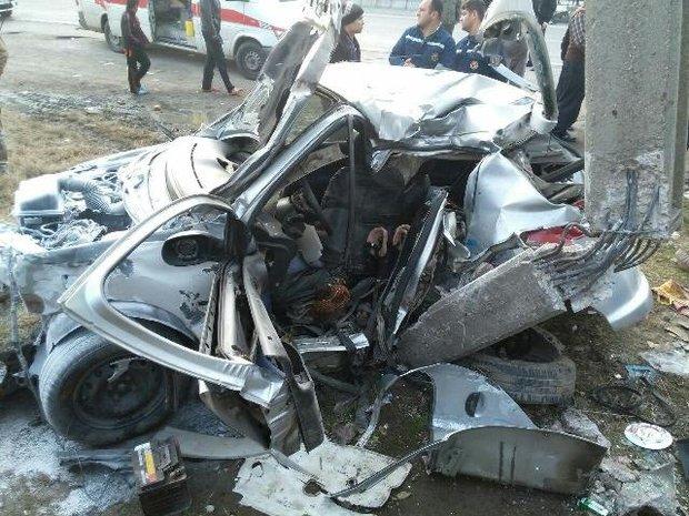 تصادف رانندگی در سنندج سه کشته و ۹ زخمی برجایی گذاشت