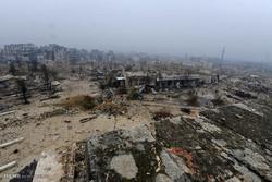 مقایسه حلب قبل و بعد از جنگ