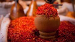 Saffron export rises by 85% in Q1
