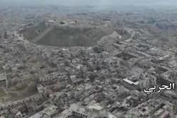 فیلم/ مناطق شرقی حلب پس از آزاد سازی از گروههای مسلح