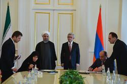 Iran-Armenia sign MOU
