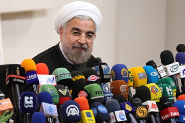 rouhani reporters