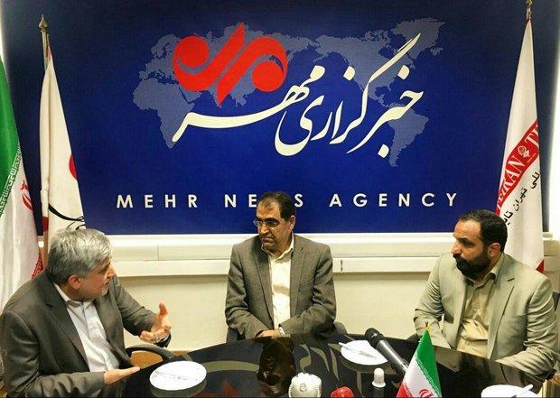وزير الصحة يتفقد وكالة مهر للانباء